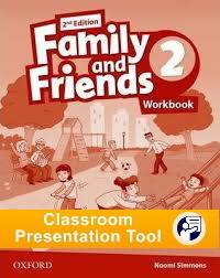 FAMILY AND FRIENDS 2  2ED WB CPT CODE GEN