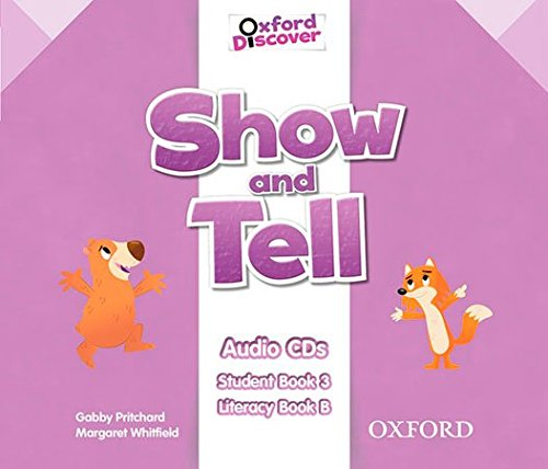 SHOW AND TELL 3 Class Audio CD