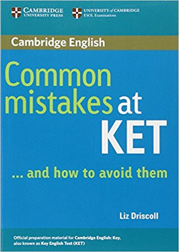 COMMON MISTAKES AT KET and how to avoid them Student's Book