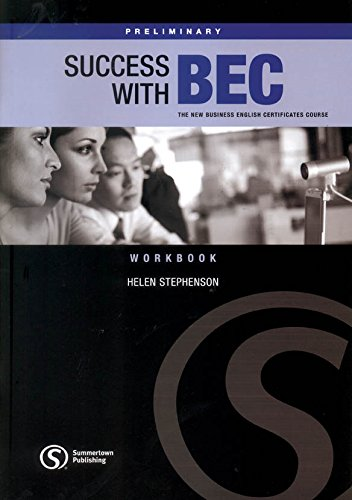 SUCCESS WITH BEC PRELIMINARY Workbook without Answers