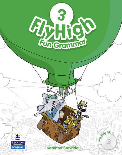 FLY HIGH 3 Fun Grammar Pupils Book + CD