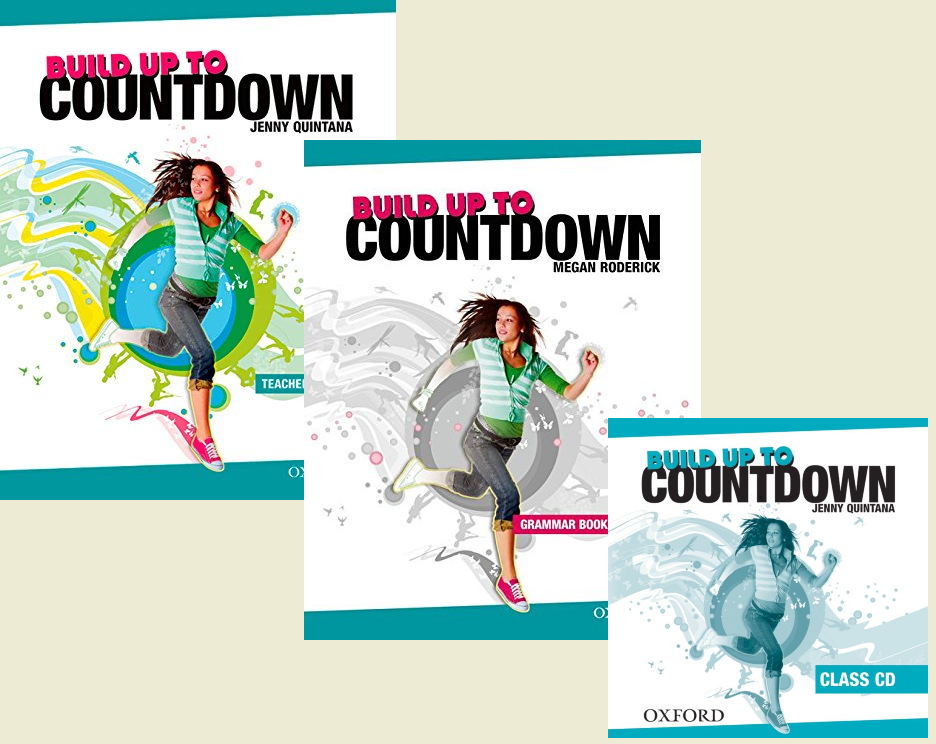 BUILD UP TO COUNTDOWN НАБОР (x3): Teacher`s Book with SB Pages+Grammar Book with key+Class CD