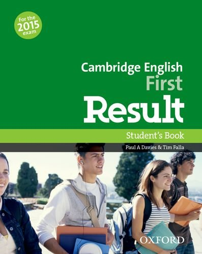 Cambridge English First Result Student's Book (2015 exam)