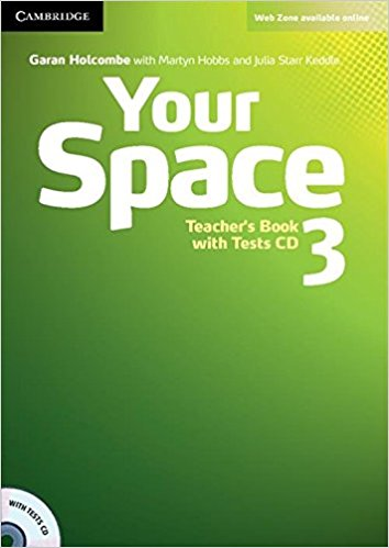 YOUR SPACE 3 Teacher's Book + Tests CD