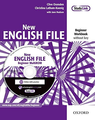 NEW ENGLISH FILE BEGINNER Workbook without Key + MultiROM Pack