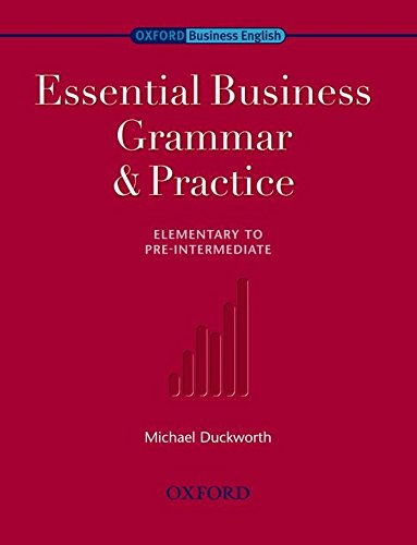 ESSENTIAL BUSINESS GRAMMAR AND PRACTICE Book