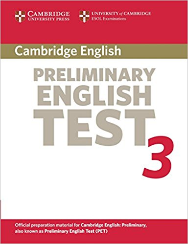 Cambridge PET 3 Student's Book