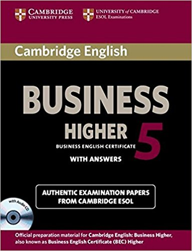 CAMBRIDGE BEC 5 HIGHER Student's Book with Answers + Audio CD