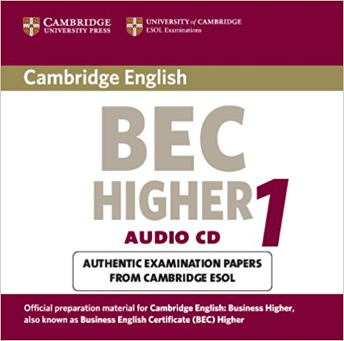 CAMBRIDGE BEC 1 HIGHER Audio CD