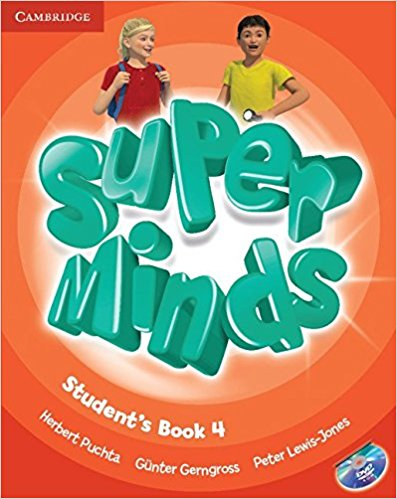 SUPER MINDS 4 Student's Book + DVD-ROM