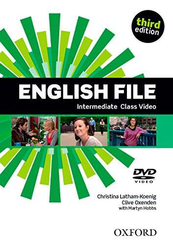 ENGLISH FILE INTERMEDIATE 3rd ED DVD