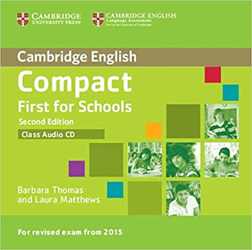 Compact First for Schools  2nd Ed AudioCD лицензионные