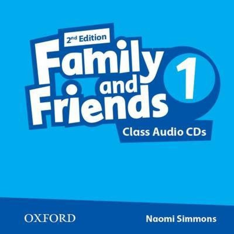 FAMILY AND FRIENDS 1 2nd ED Class Audio CD (x2)