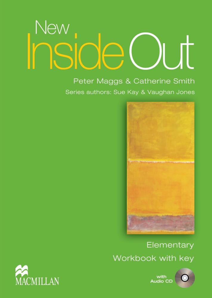 NEW INSIDE OUT Elementary Workbook with Key + Audio CD
