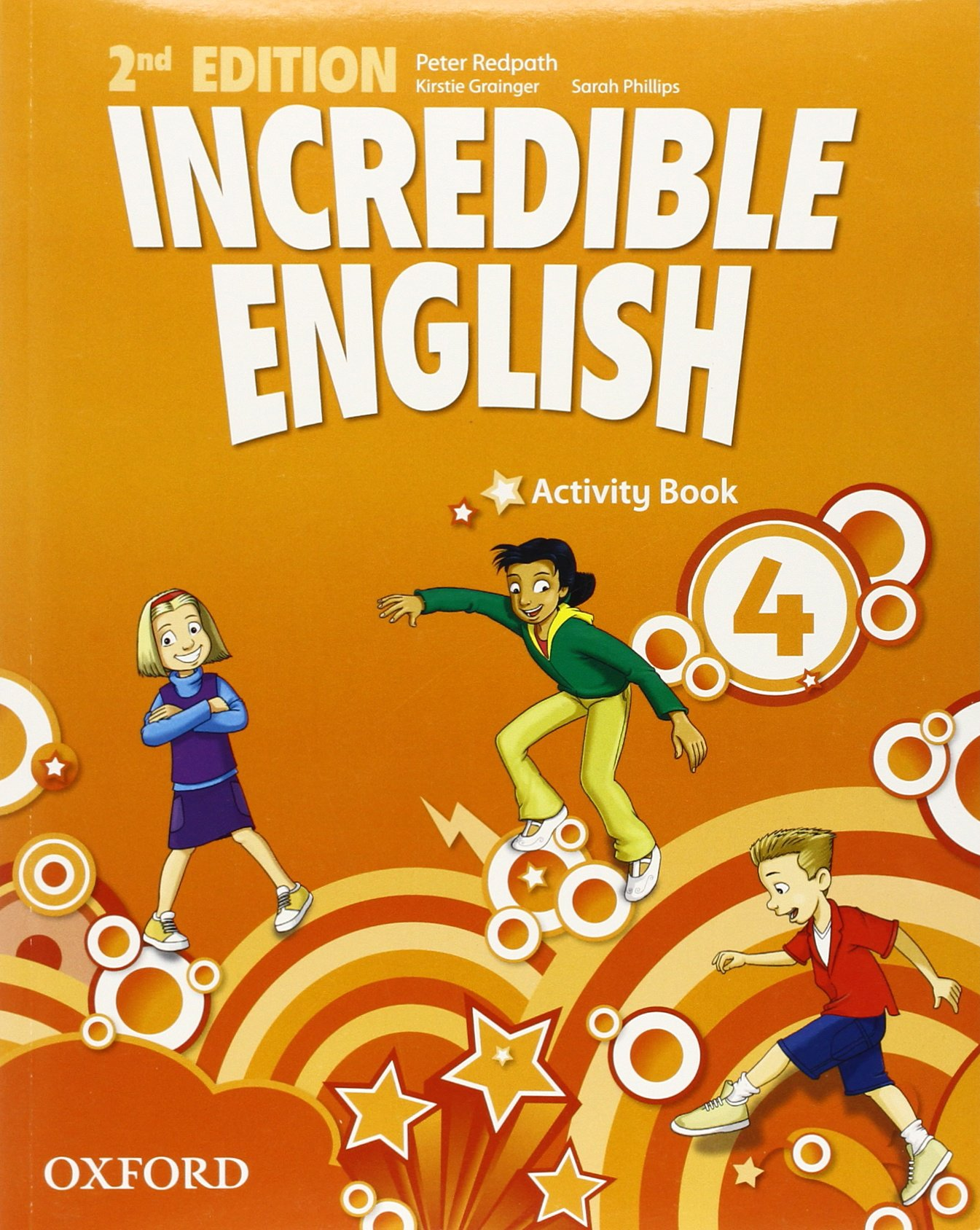 INCREDIBLE ENGLISH  2nd ED 4 Activity Book