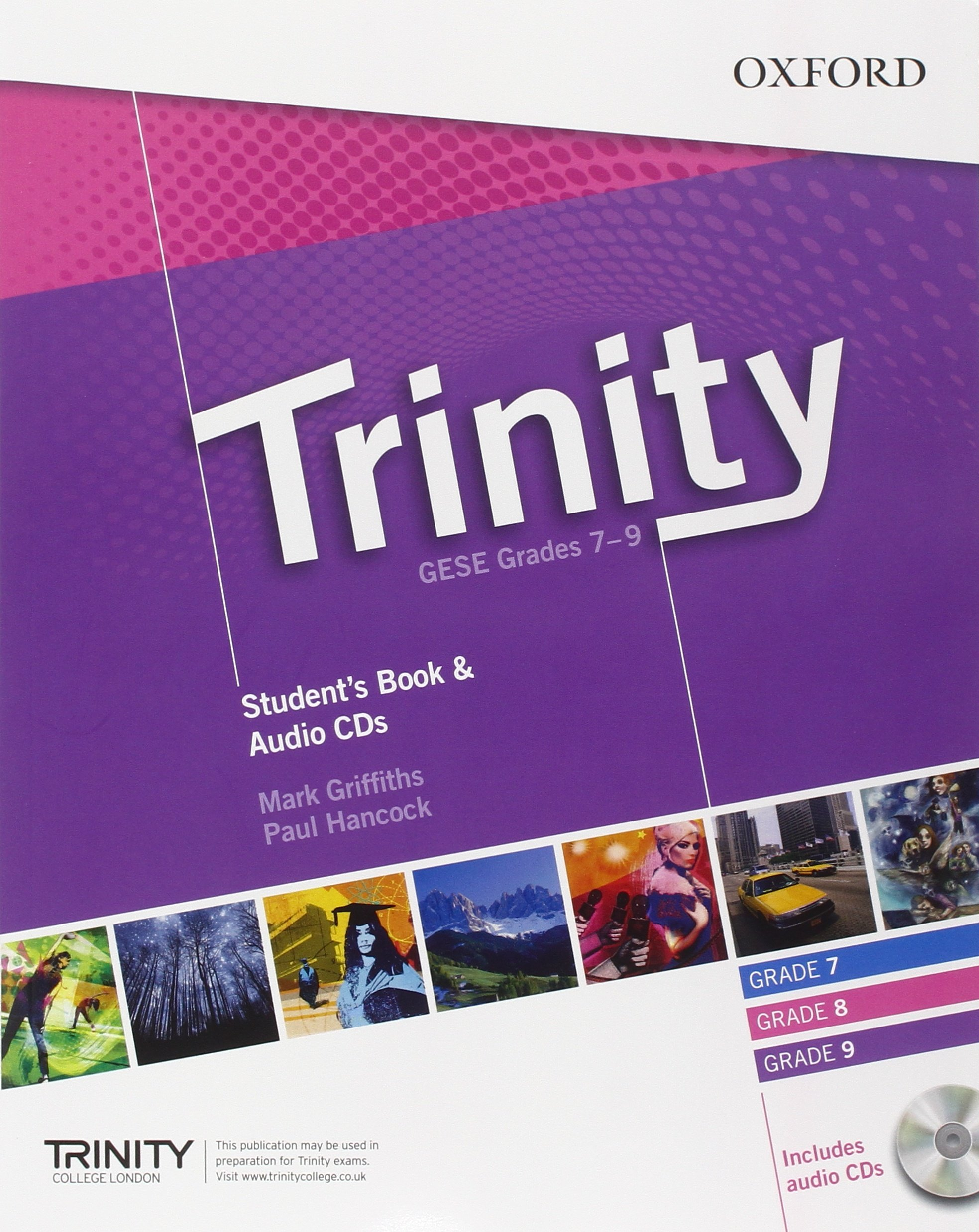 TRINITY GESE 7-9 Student's Book + Audio CD