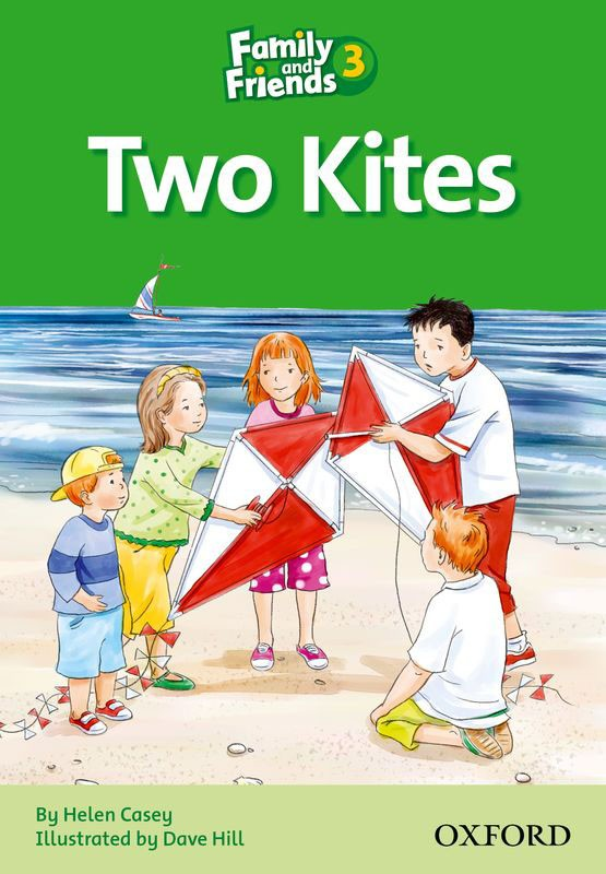 FAMILY & FRIENDS Reader 3D Two kites