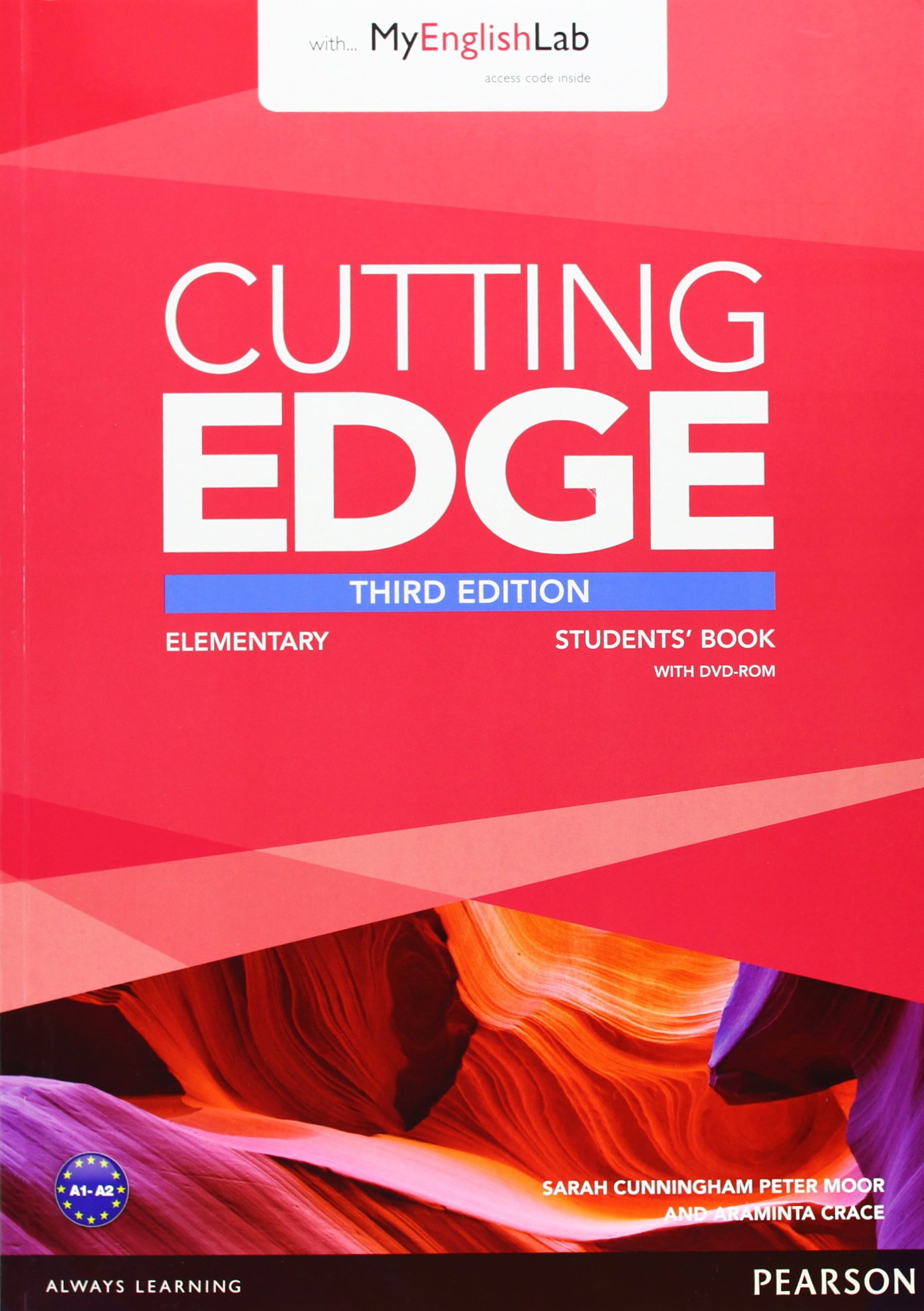 CUTTING EDGE ELEMENTARY 3rd ED Student's Book +DVD +MyLab