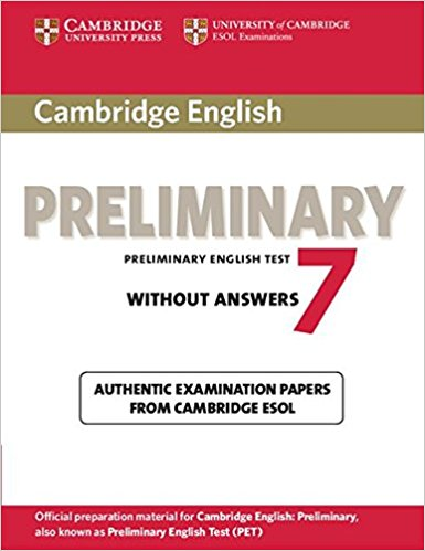 Cambridge PET 7 Student's Book