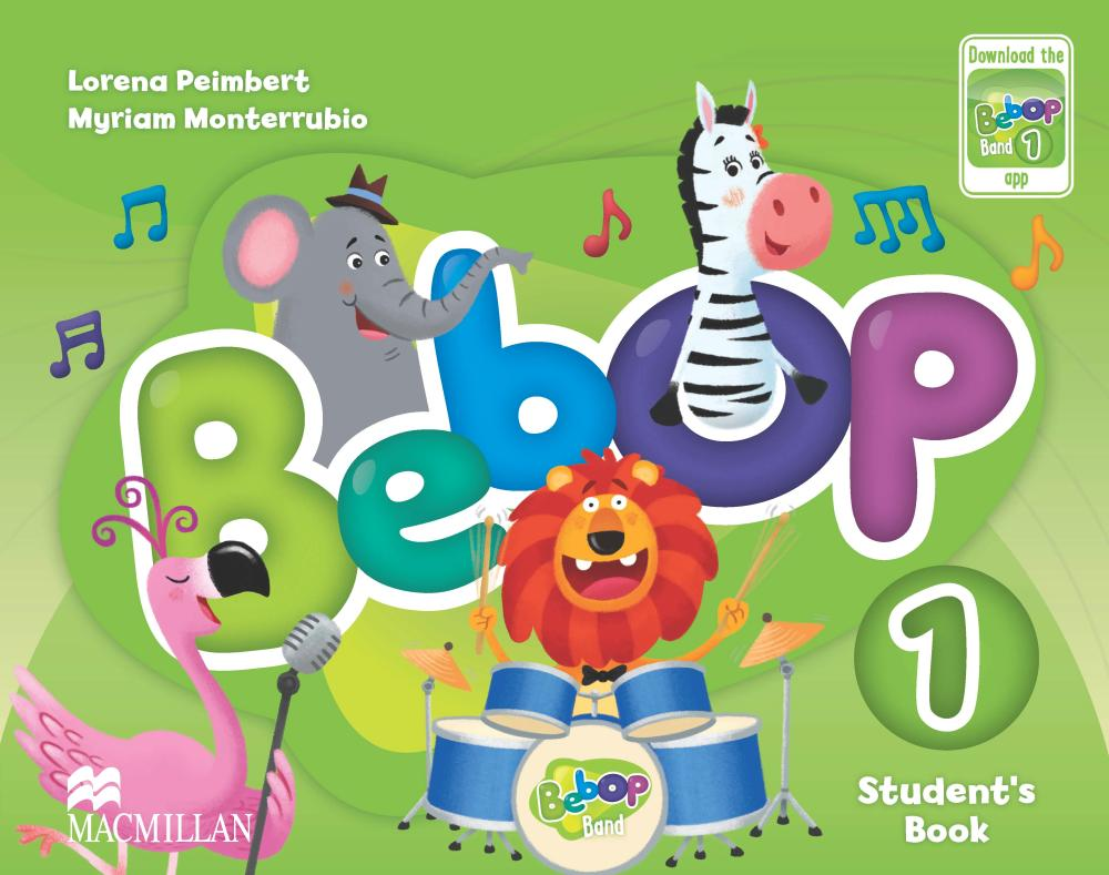 BEBOP 1 Student's Book + Audio CD