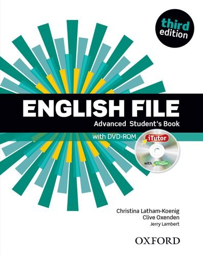 ENGLISH FILE ADVANCED 3rd ED Student's Book with iTutor Pack