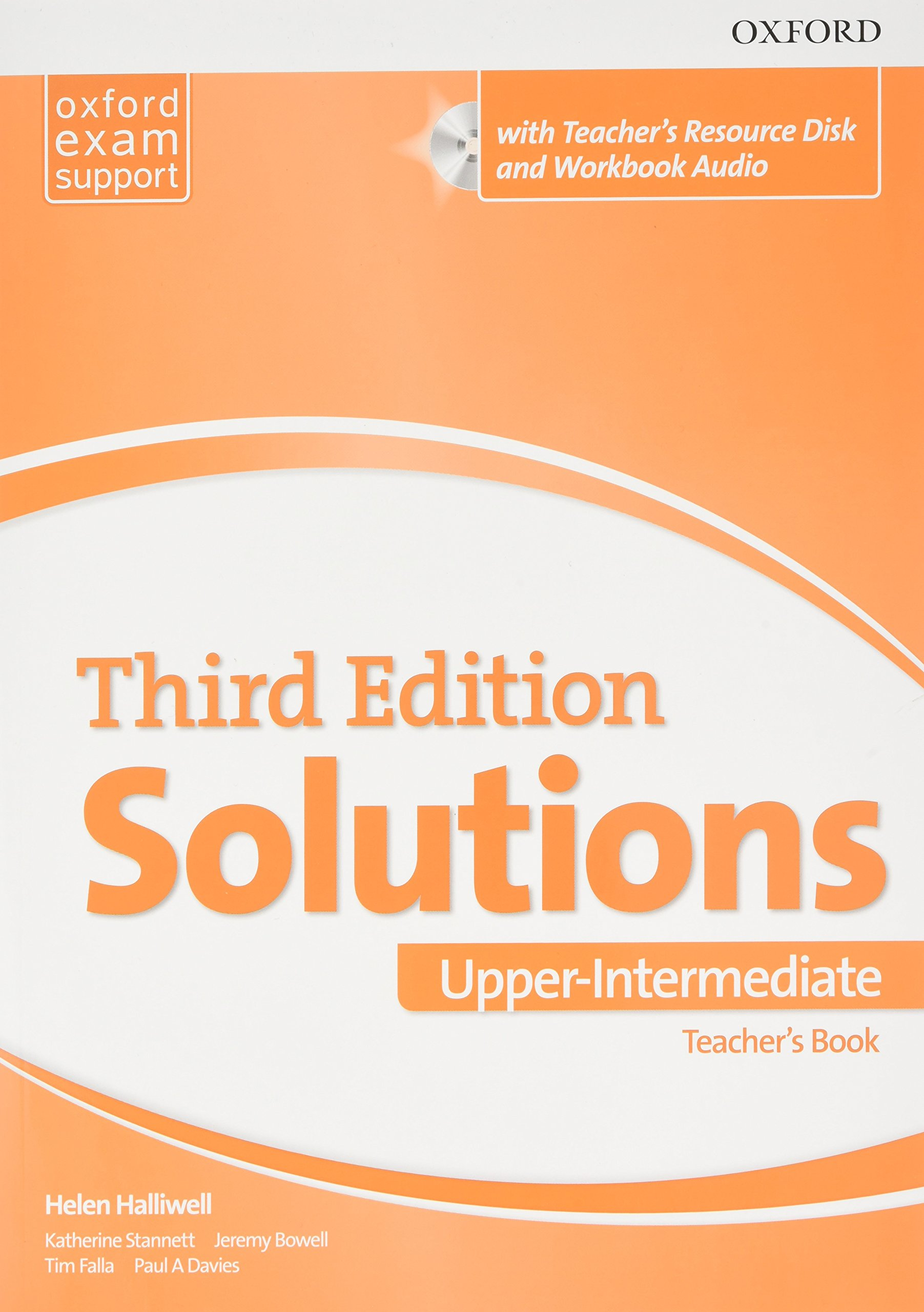 SOLUTIONS UPPER-INTERMEDIATE 3rd ED Teacher's Book + CD-ROM