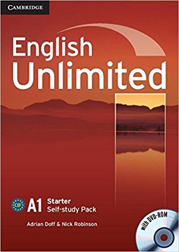 ENGLISH UNLIMITED STARTER Self-Study Pack + DVD-ROM