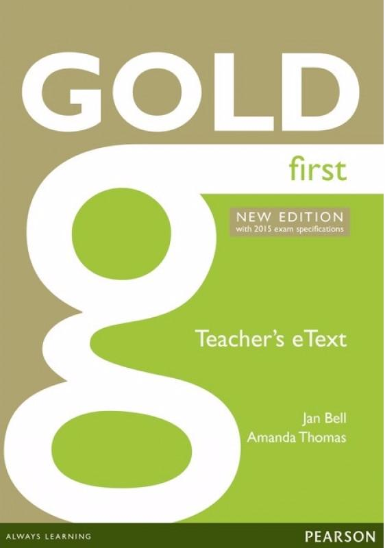 Gold New Edition First  Active Teach