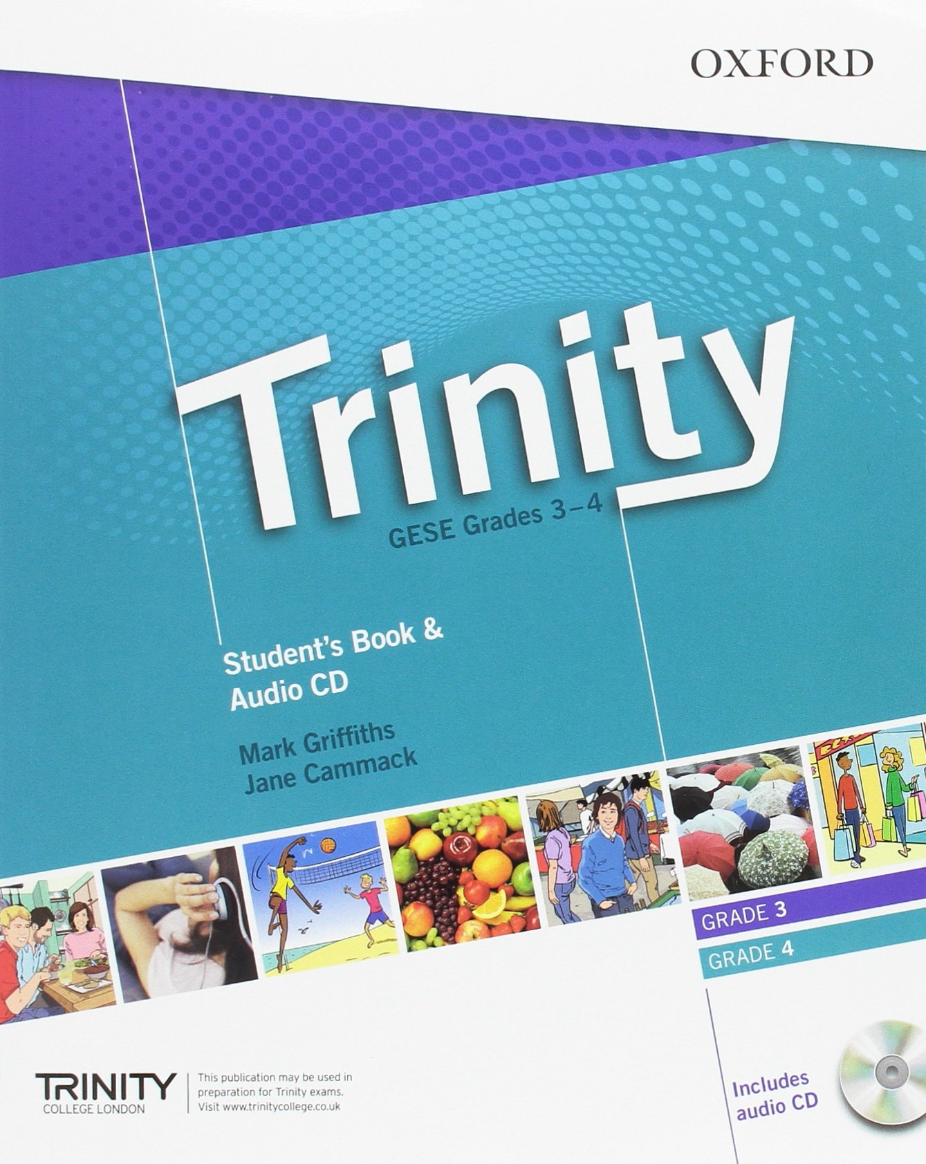 TRINITY GESE 3-4 Student's Book + Audio CD