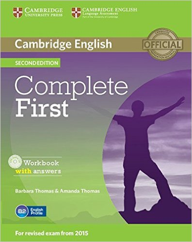 Complete First 2Ed Workbook with answers +AudioCD