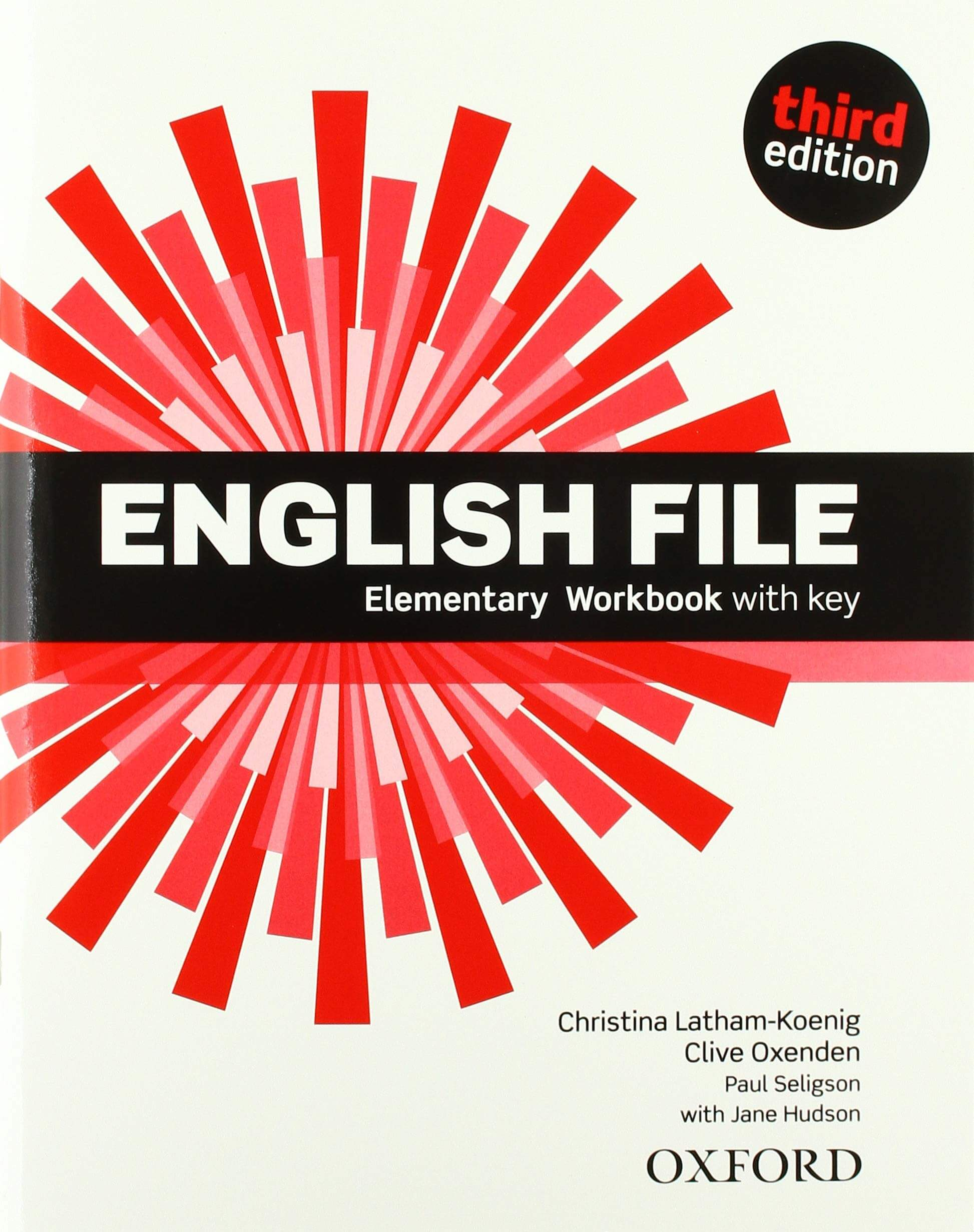 ENGLISH FILE ELEMENTARY 3rd ED Workbook with Key