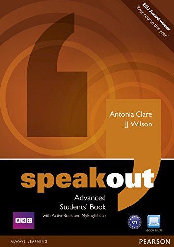 SPEAKOUT  ADVANCED Student's  Book+ DVD+Active book + MyLab