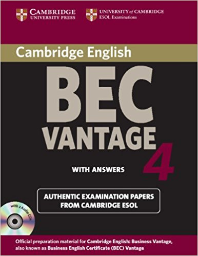CAMBRIDGE BEC 4 VANTAGE Student's Book with Answers + Audio CD