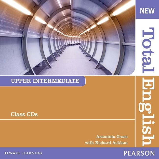 NEW TOTAL ENGLISH UPPER-INTERMEDIATE Audio CD