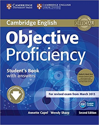 OBJECTIVE PROFICIENCY 2nd ED  Student's Book Pack (Student's Book with answers+AudioCD+CD-ROM)