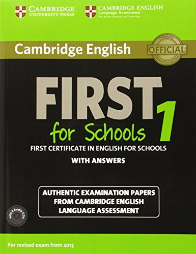 Cambridge English First for Schools 1 for revised exam from 2015 Student's Book Pack (Student's Book with answers+AudioCDx2)