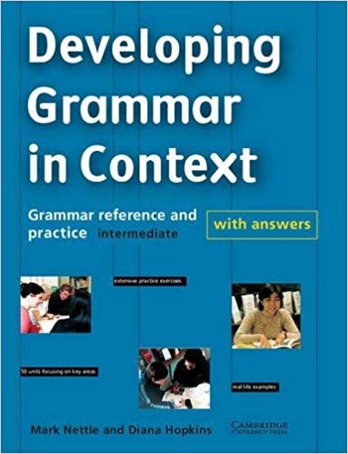 DEVELOPING GRAMMAR IN CONTEXT Book + Answers