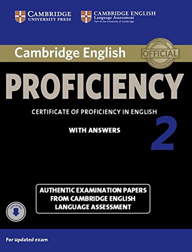 CAMBRIDGE ENGLISH PROFICIENCY 2 Student's Book with Answers + Audio CD