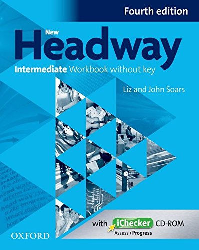 NEW HEADWAY INTERMEDIATE 4th ED Workbook without Key + iChecker