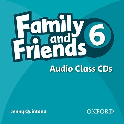 FAMILY AND FRIENDS 6 Class Audio CD