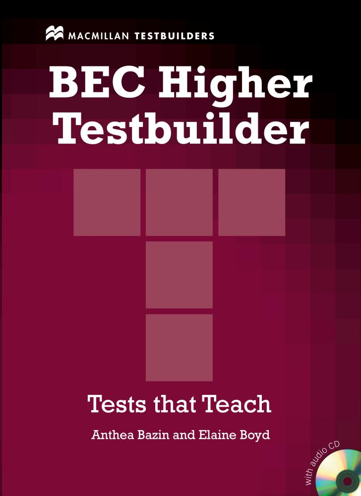 BEC HIGHER TESTBUILDER Book + Audio CD