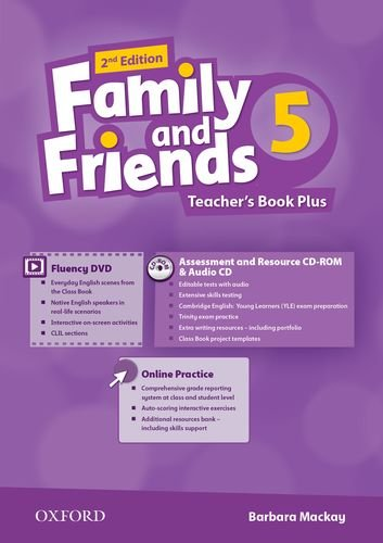 FAMILY AND FRIENDS 5 2nd ED Teacher's Book Pack