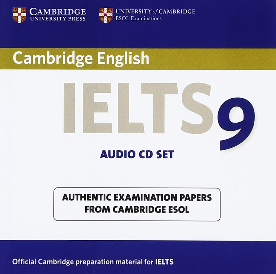 CAMBRIDGE IELTS 9 Audio CD