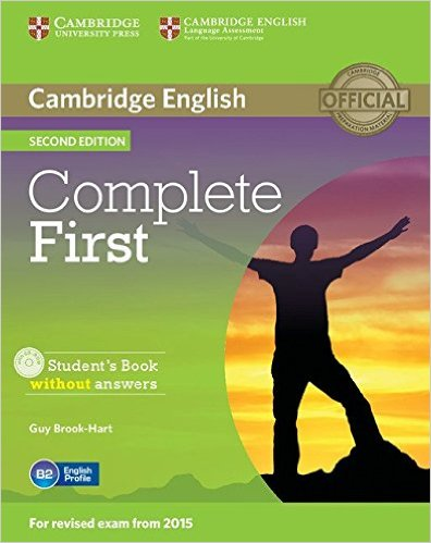Complete First 2nd Ed Student's Book without  answers + CD-ROM