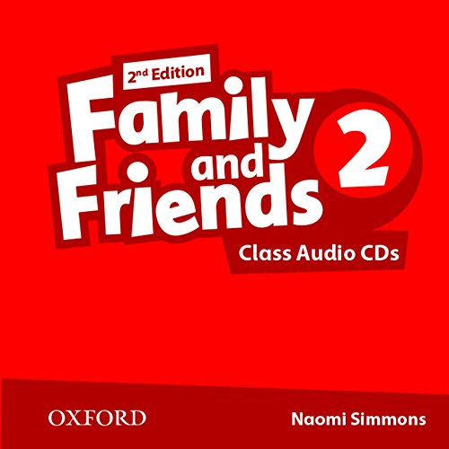 FAMILY AND FRIENDS 2 2nd ED Class Audio CD (x2)