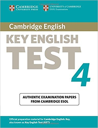 CAMBRIDGE KEY ENGLISH TEST 4 Student's Book