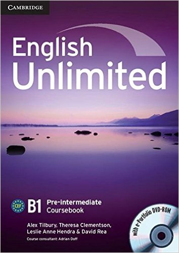 ENGLISH UNLIMITED PRE-INTERMEDIATE Coursebook + e-Portfolio