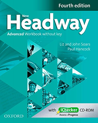 NEW HEADWAY ADVANCED 4th ED Workbook without Key + iChecker
