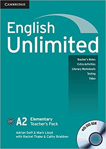 ENGLISH UNLIMITED ELEMENTARY Teacher's Book  +DVD-ROM Pack