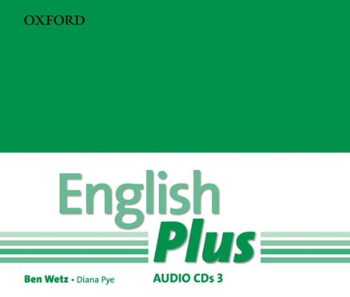 ENGLISH PLUS 3  Class Audio CD (x3)